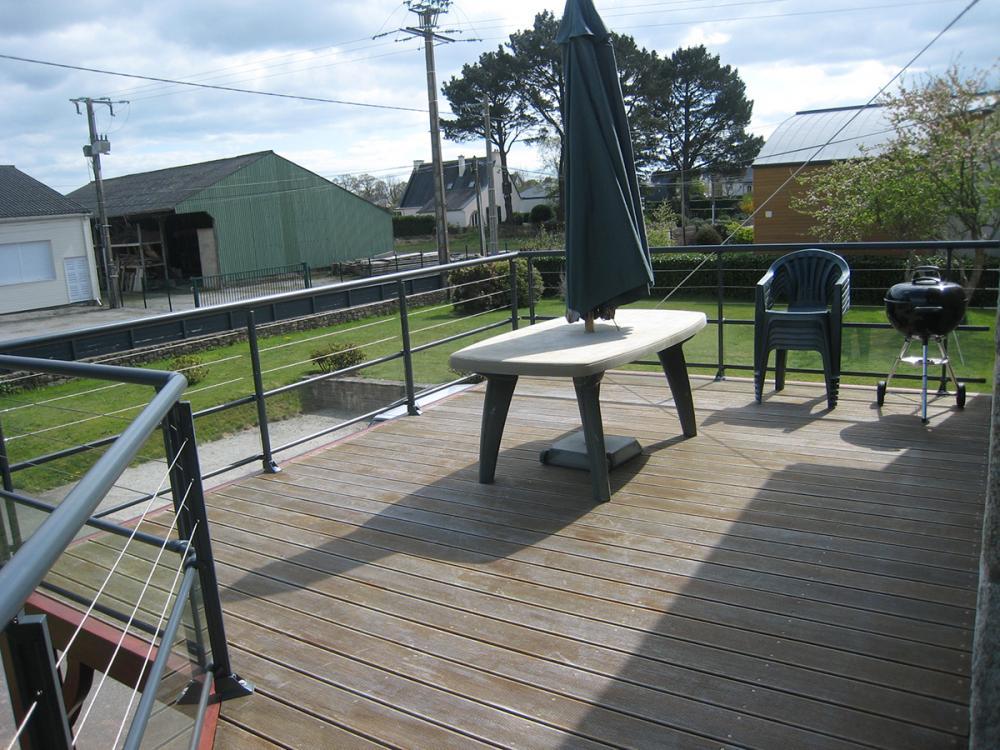 Pose de terrasse en bois sur le secteur de vannes auray et for Terrasse bois surelevee