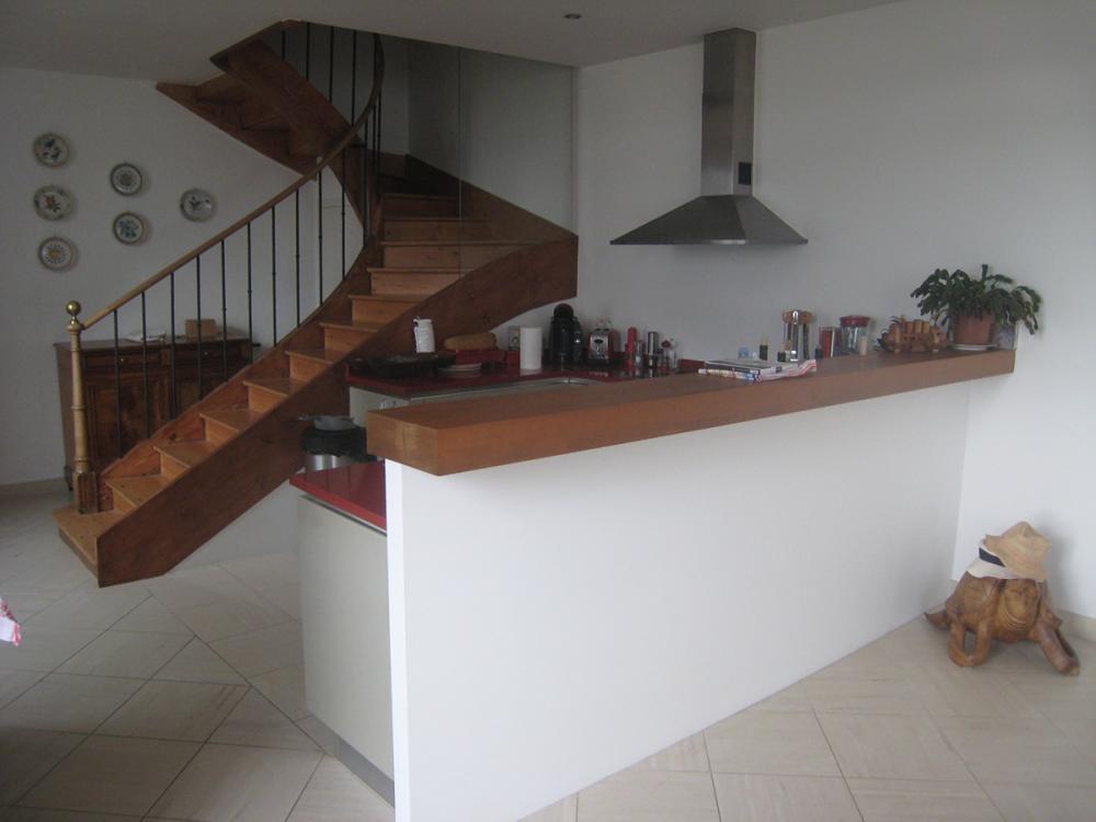 Stunning escalier d interieur design contemporary for Fabrication escalier beton interieur