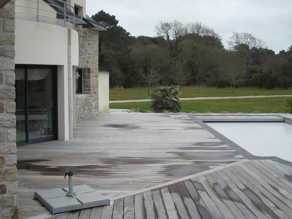 Pose De Terrasse En Bois Sur Le Secteur De Vannes Auray Et Dans Le