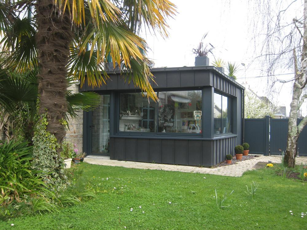 Menuiserie Pouivé :réalisation d'extension bois